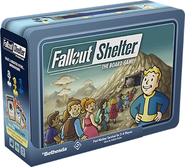 New Board Games 2020.Fallout Shelter The Board Game Releasing In 2020 Gonintendo
