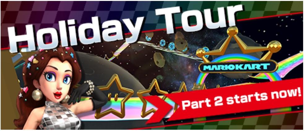 Mario Kart Tour Content Update For Dec 25th 2019