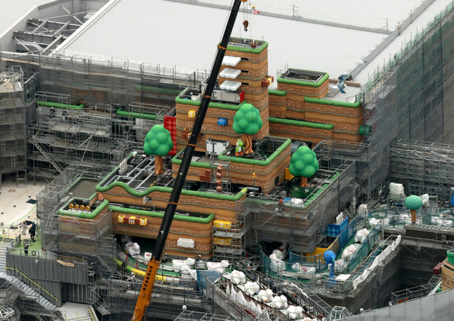 Check Out More Construction Images Of Super Nintendo World Gonintendo