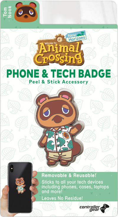 Best Buy Offering Tom Nook Peel Stick Phone Tech Badge For Preordering Animal Crossing New Horizons Gonintendo