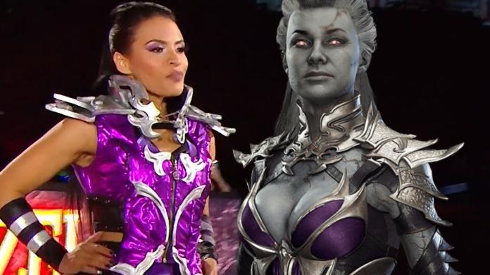 Wwe Superstar Zelina Vega Wears A Tribute To Mortal Kombat S