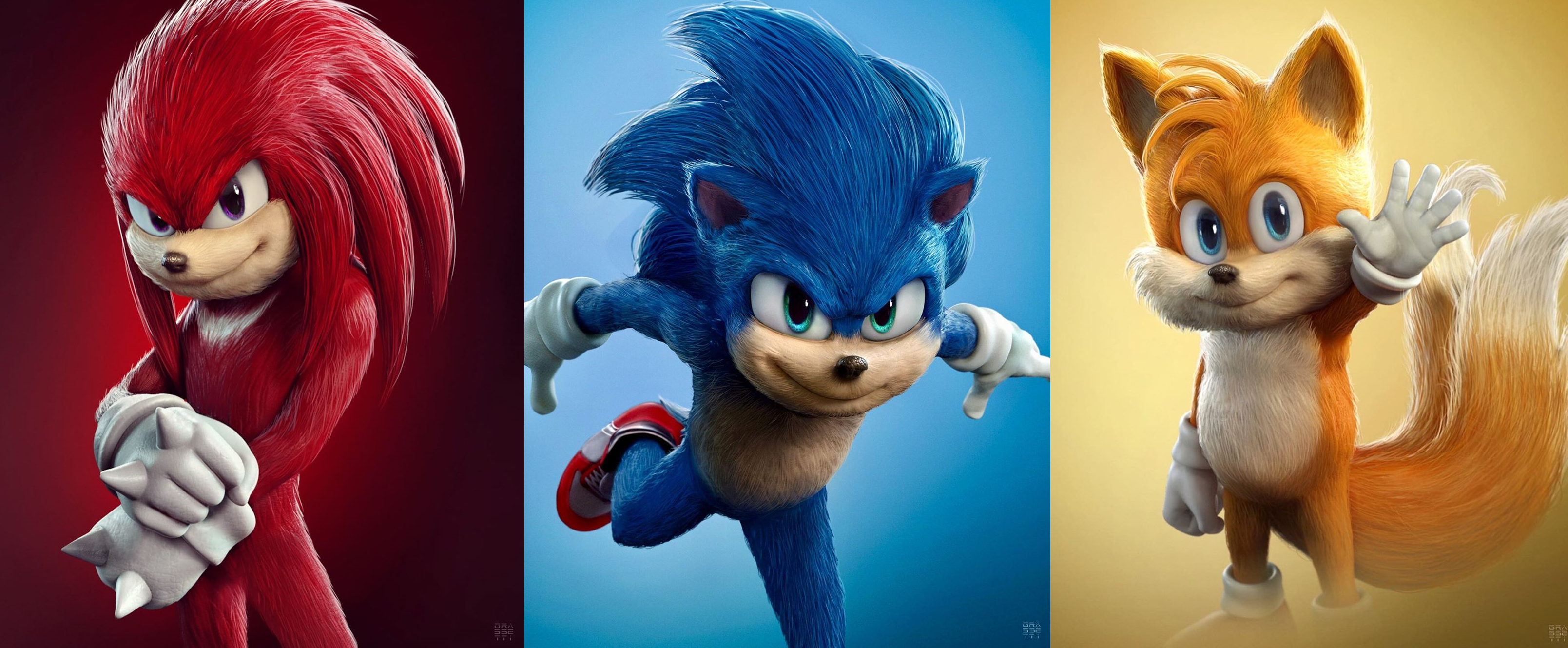God Of War Art Director Puts His Spin On Sonic Tails And