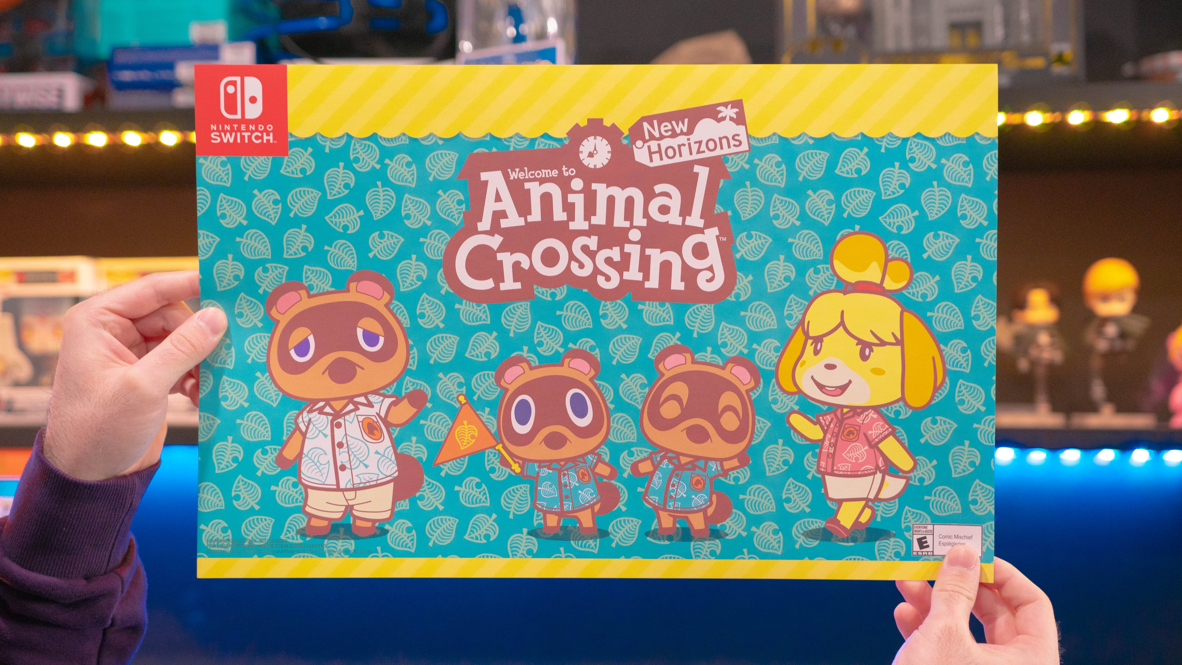 Gamestop And Eb Games Offering Animal Crossing New Horizons