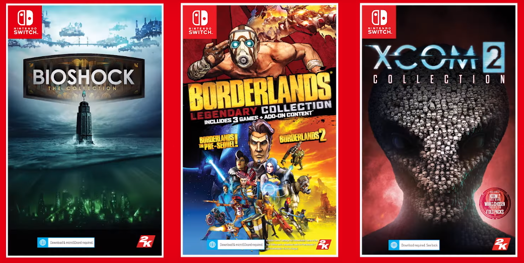 Borderlands, BioShock and XCOM are coming to the Switch