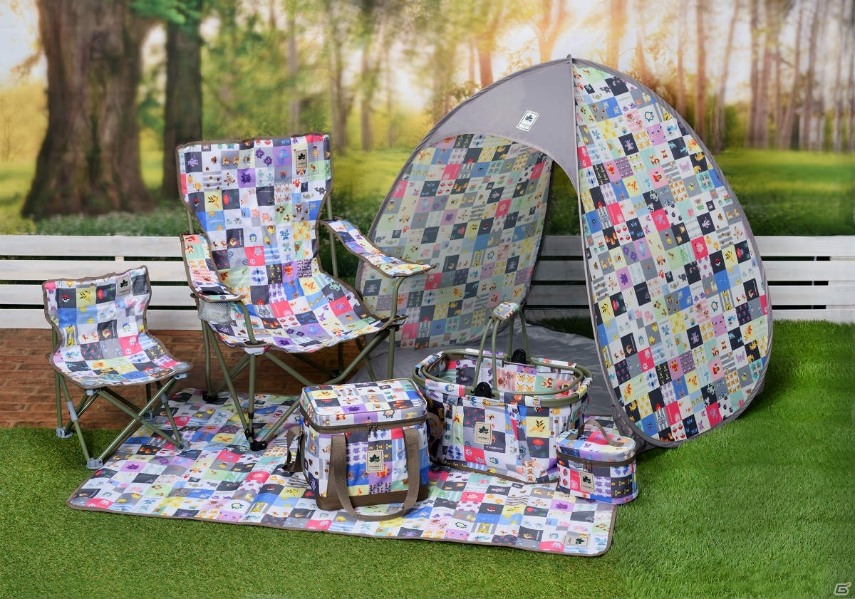 Get A Closer Look At The Pokemon X Logos Camping Gear Lineup Gonintendo