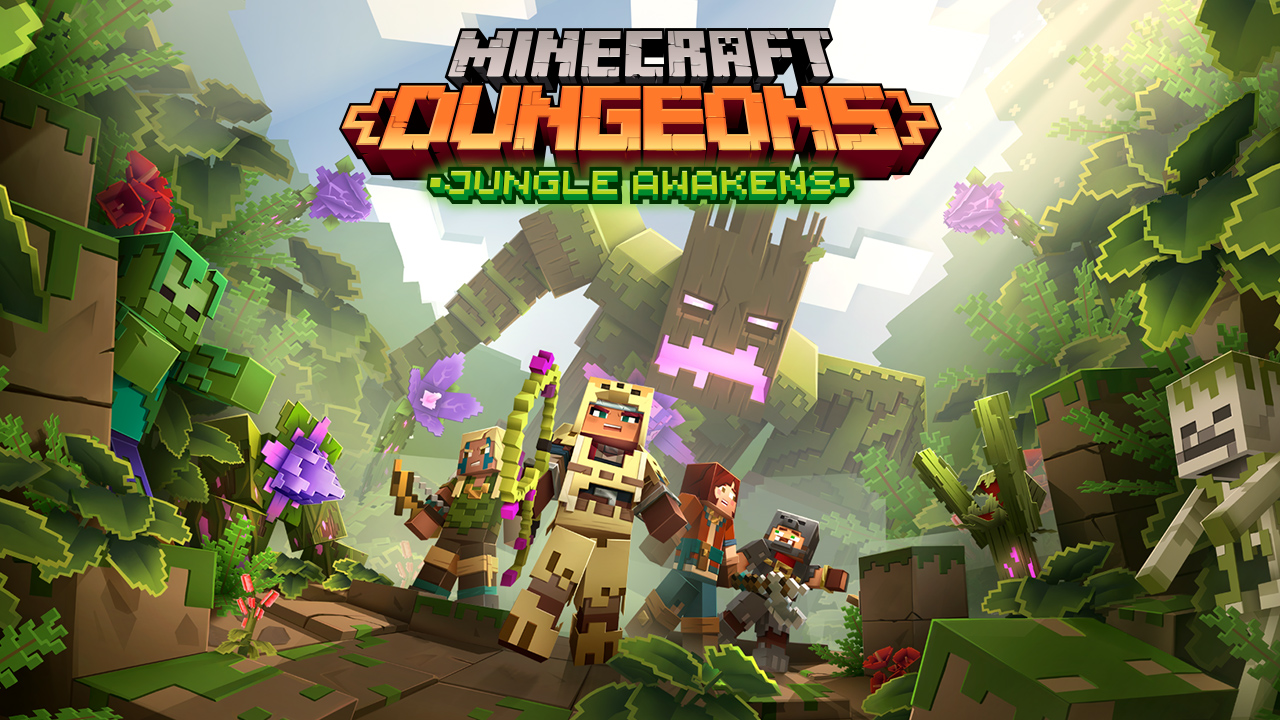 Mojang Reveals The First DLC Pack For Minecraft Dungeons, Arrives This July