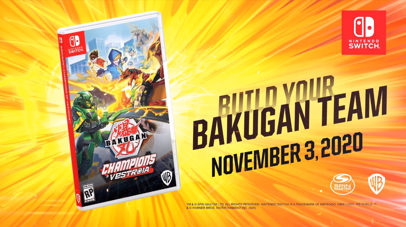 WayForward To Develop Bakugan: Champions Of Vestroia Exclusively On Switch