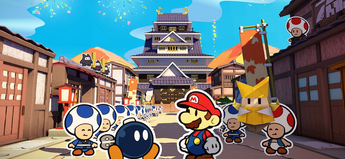 download paper mario the origami king on android