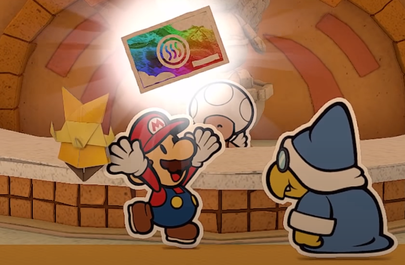 Paper Mario: The Origami King Review - Innovative Turn-Based Combat