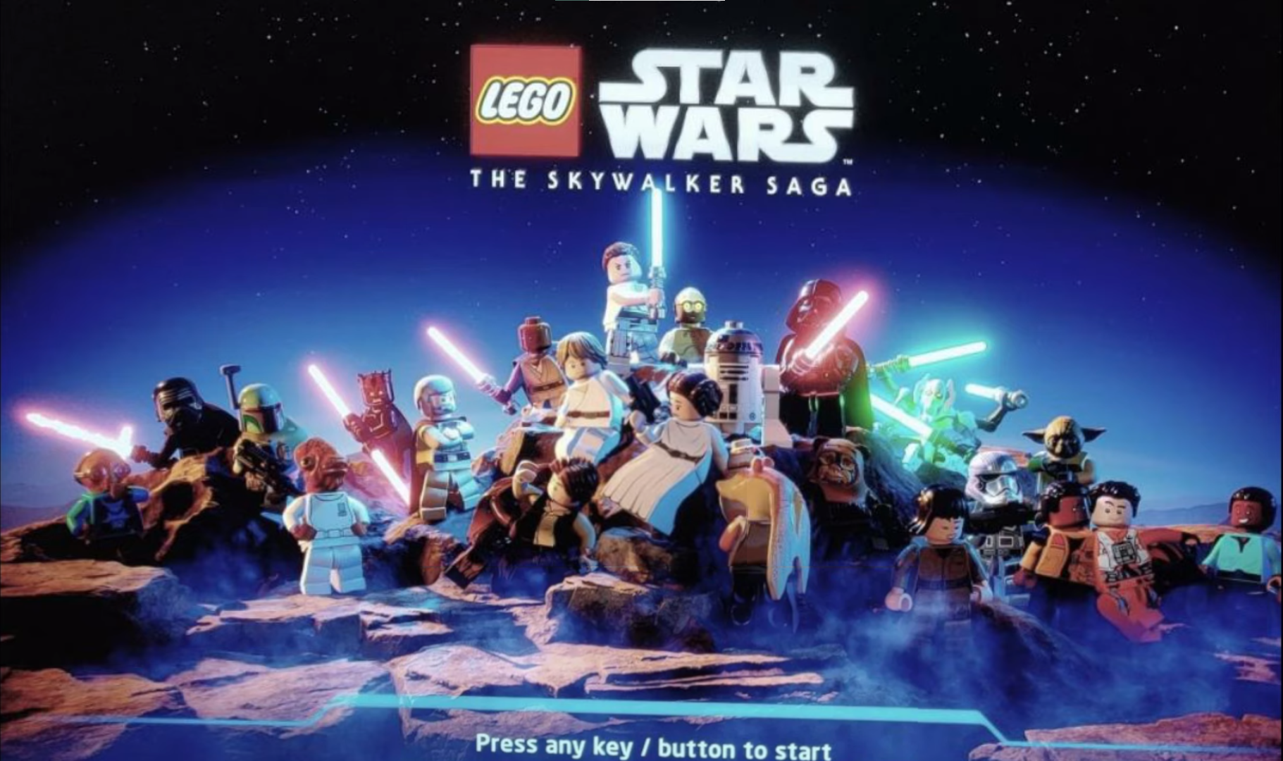 [Φήμη] Διέρρευσε η start screen του LEGO Star Wars: The Skywalker Saga;