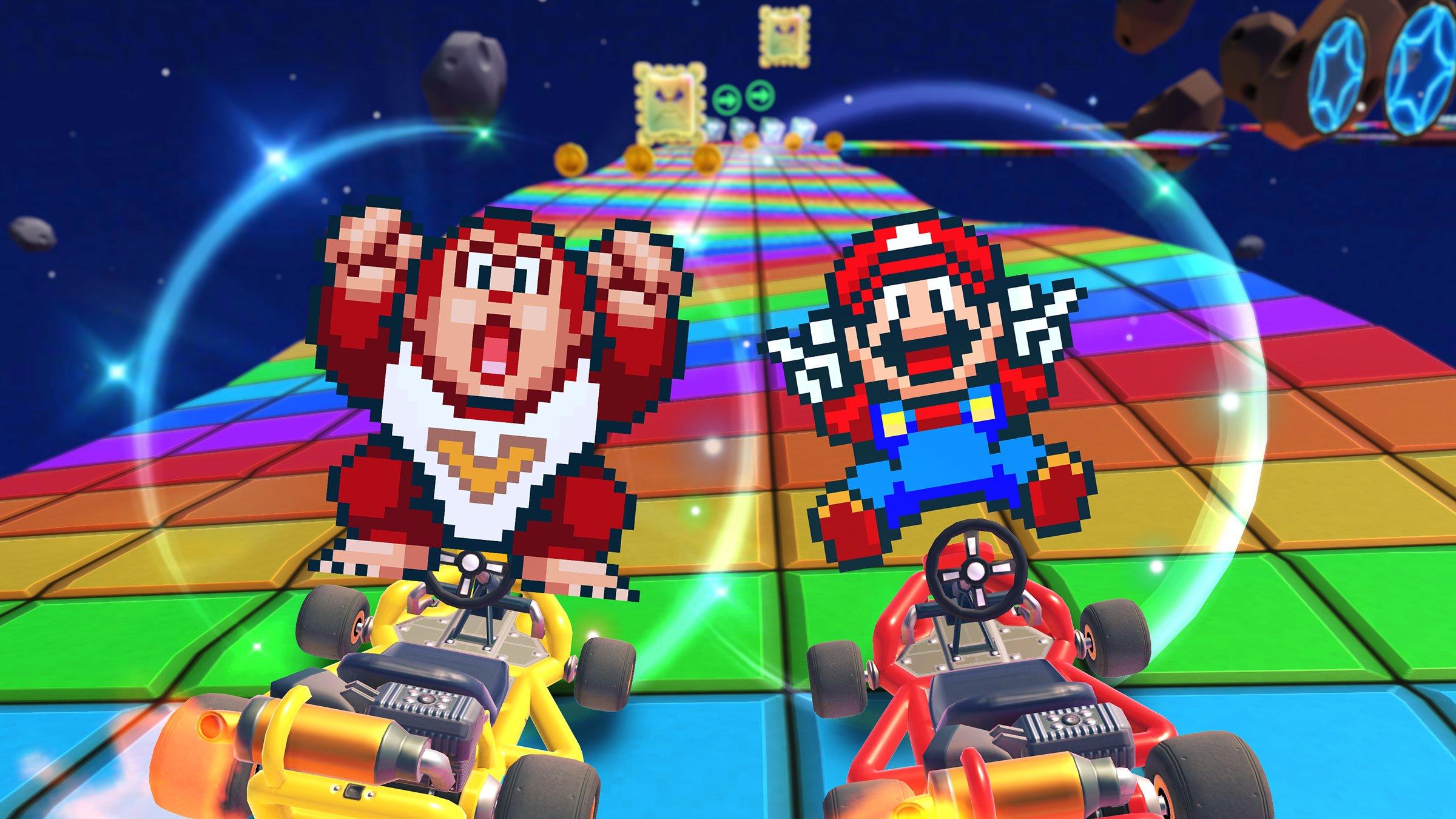 Mario Kart Tour Kicks Off The Super Mario Kart Tour On Sept 8th Mario Snes And Donkey Kong Jr Snes Included Gonintendo