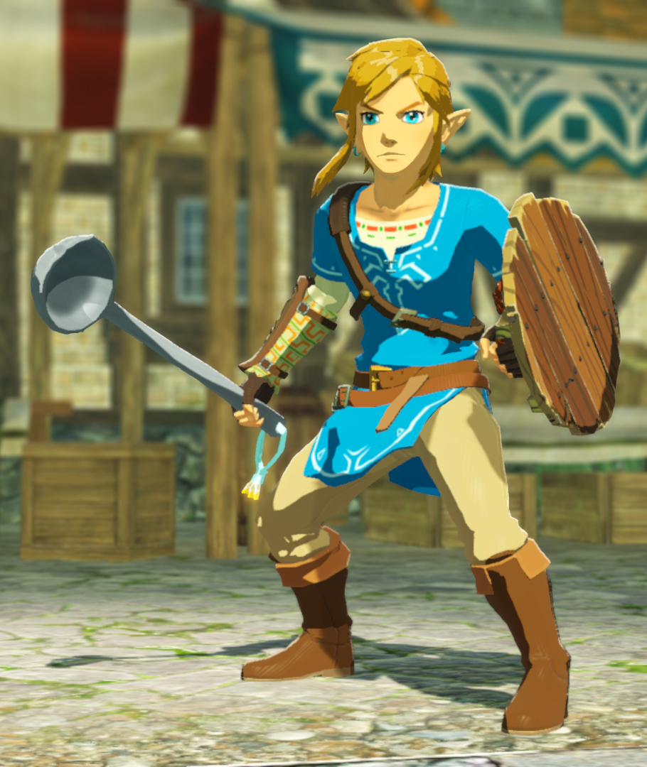 Hyrule Warriors Age Of Calamity File Size Revealed Get A Pot Lid Shield And Lucky Ladle Sword For Pre Ordering The Game Gonintendo