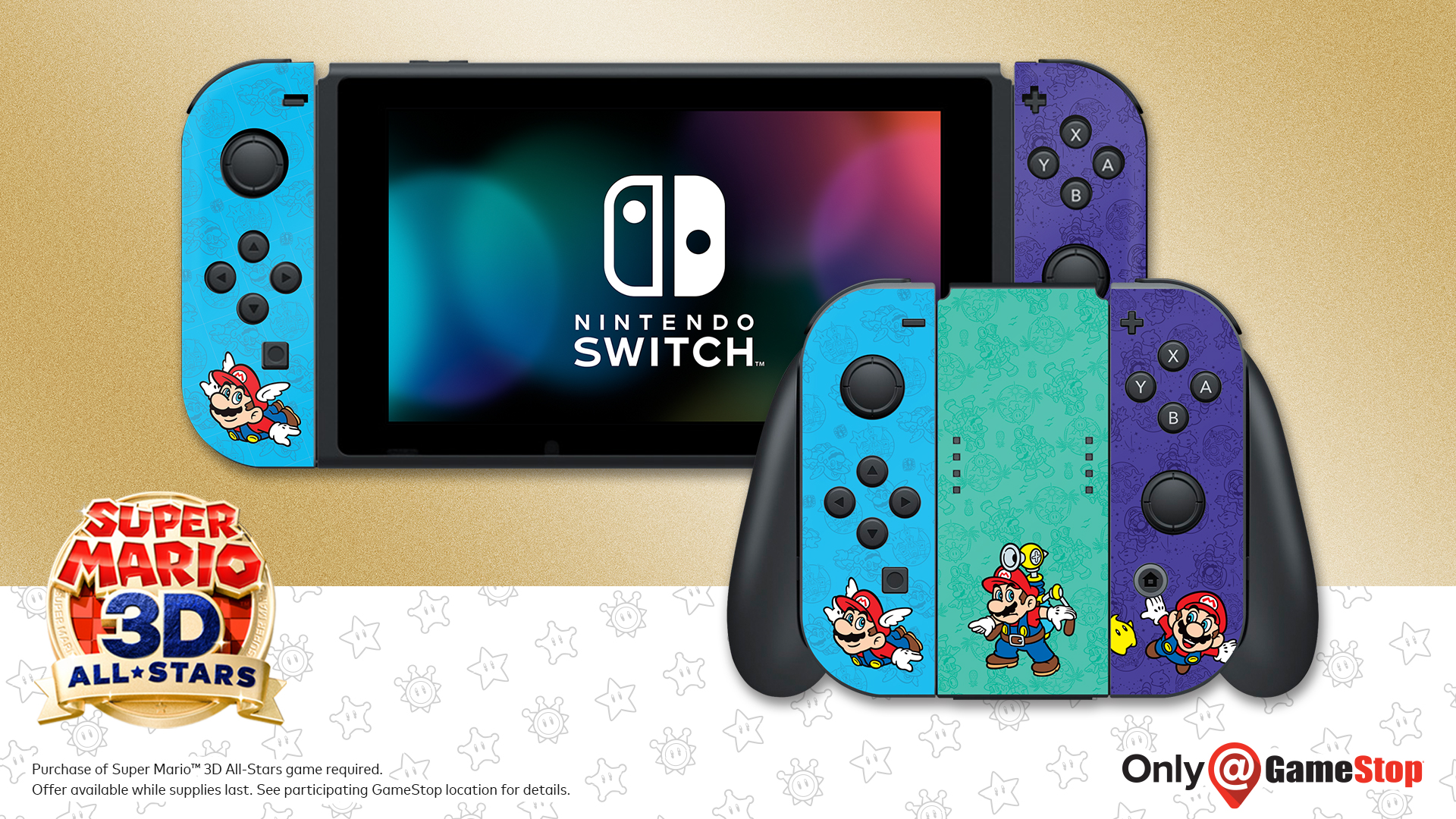 Gamestop Offering Joy Con Covers As A Pre Order Bonus For Super Mario 3d All Stars Gonintendo