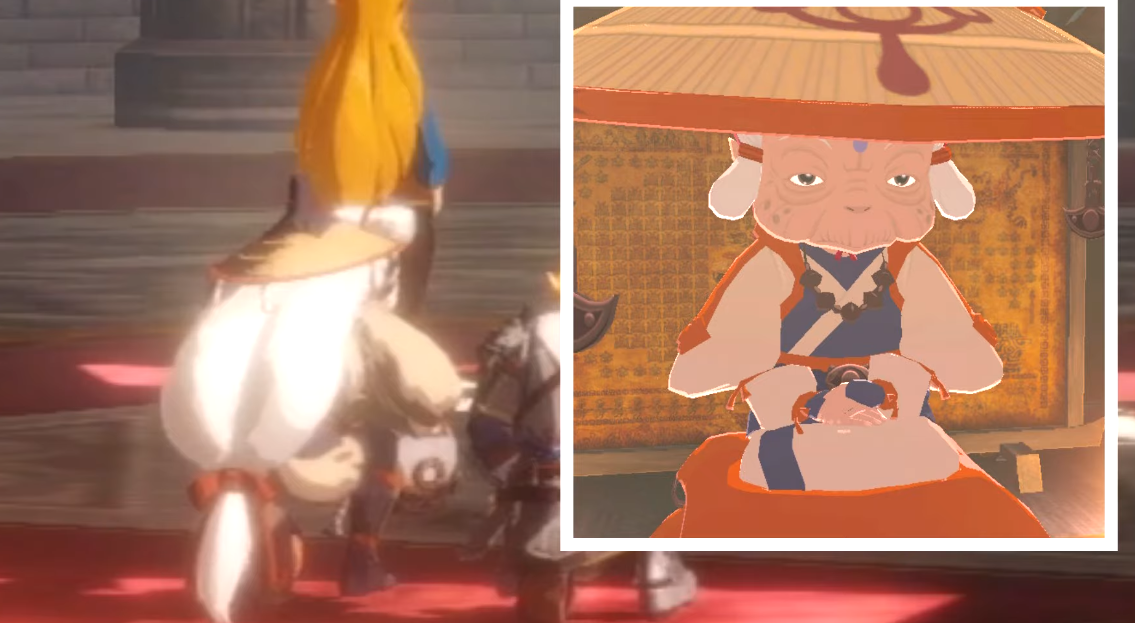 Young Impa Spotted In Hyrule Warriors Age Of Calamity Gonintendo