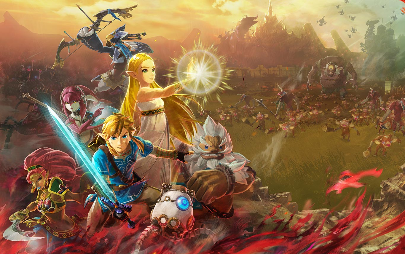 Hyrule Warriors Age Of Calamity Will Include Local Co Op Multiplayer Gonintendo