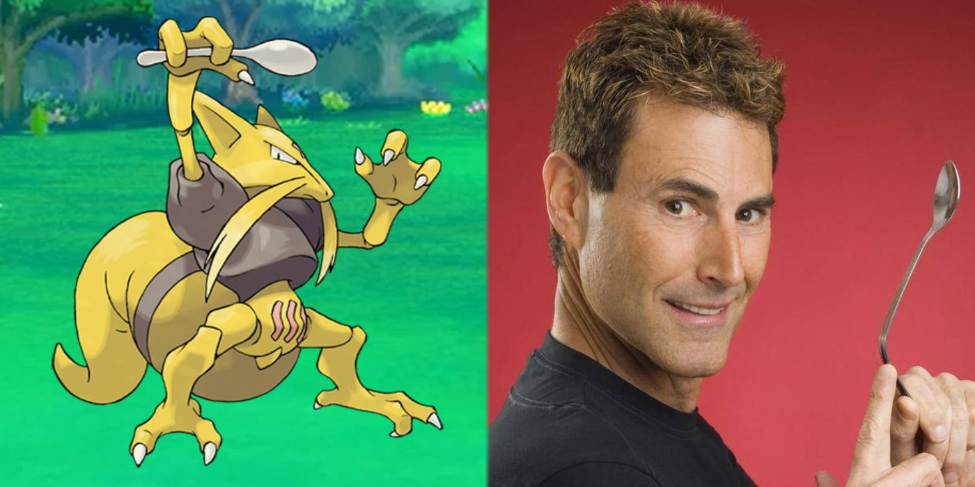 Uri Geller to Allow Nintendo to Use Kadabra on Pokemon Cards Again