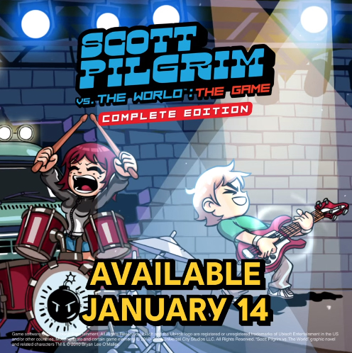 Scott Pilgrim vs. The World: The Game Complete Edition Launches in January