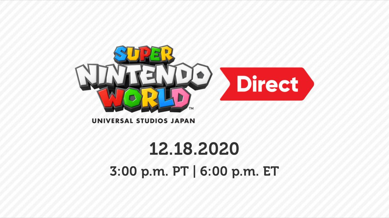 Super Nintendo World Direct 18 12 2020 Roundup