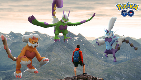 Therian Forme Tornadus, Therian Forme Thundurus, and Therian Forme Landorus Make Their Pokémon GO Debut in the Season of Legends Today