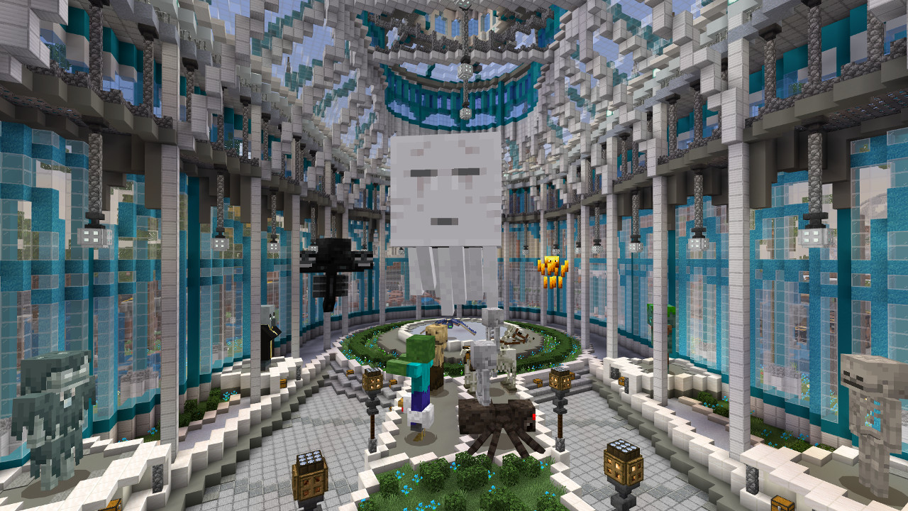 Get your free Minecraft 10th anniversary map