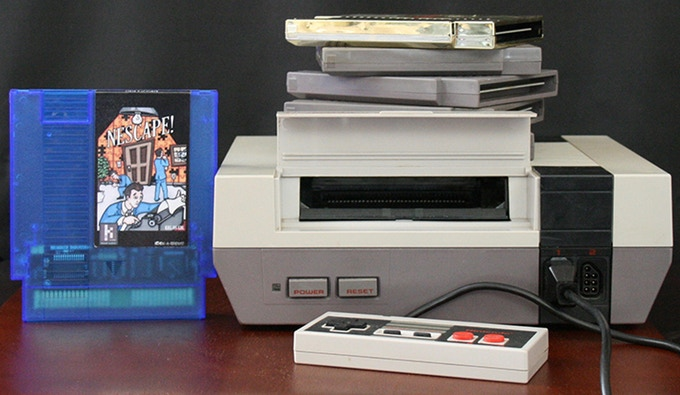 NEScape! Kickstarter hits goal, seeing release on NES