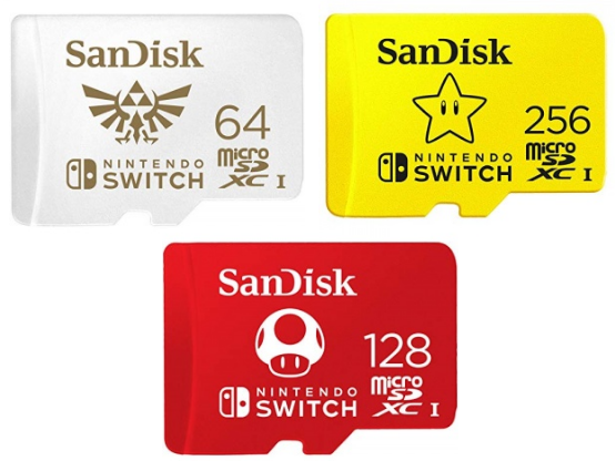 """Official Nintendo-branded """"Star"""" microSD card available on Amazon UK"""
