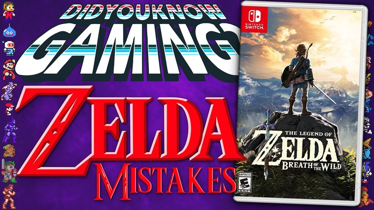 Did You Know Gaming - Mistakes in Zelda games