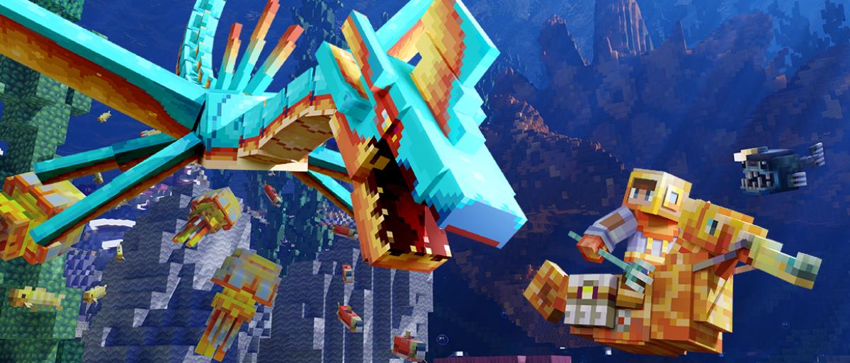 Get Minecraft's deep sea mash-up free this weekend