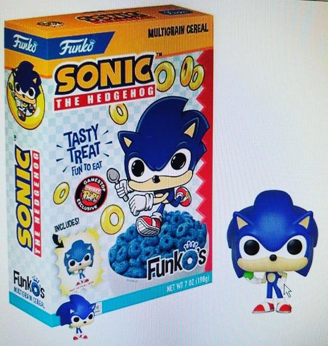 RUMOR - FunkO cereal line to add Sonic to its lineup