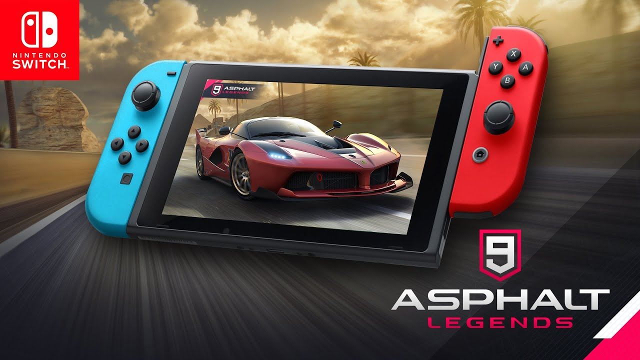 Announcing Asphalt 9: Legends for the Switch, due out Summer 2019
