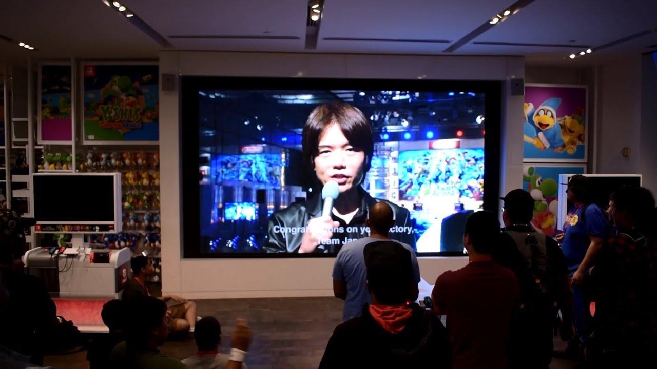 Smash Bros. Ultimate World Championship 2019 - Nintendo NY crowd reactions