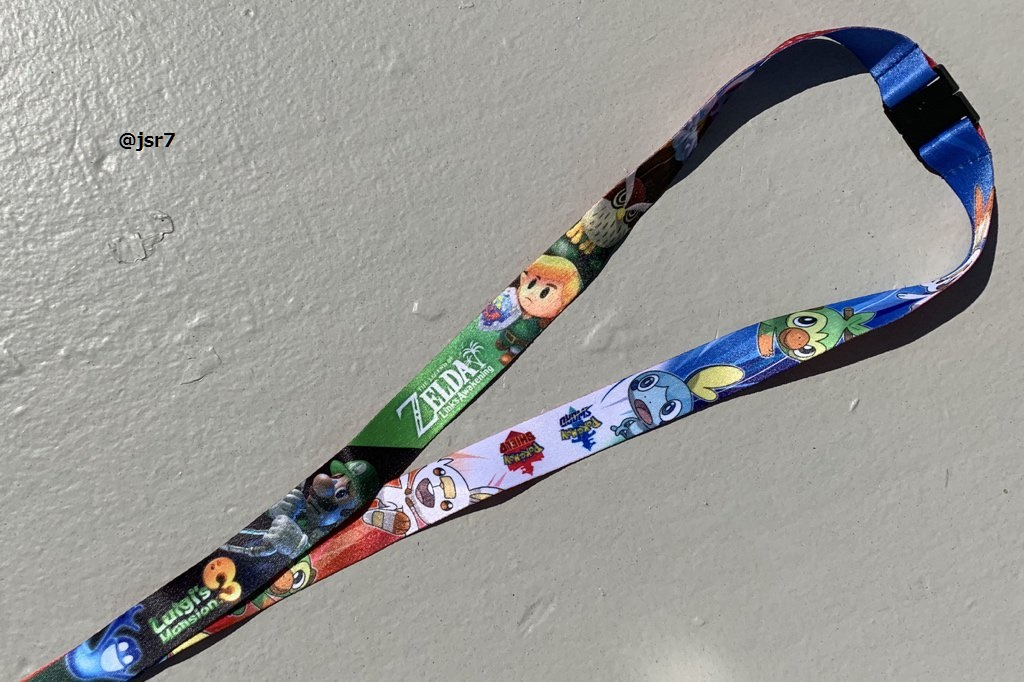 The official E3 2019 lanyard is chock-full of Nintendo's Switch titles