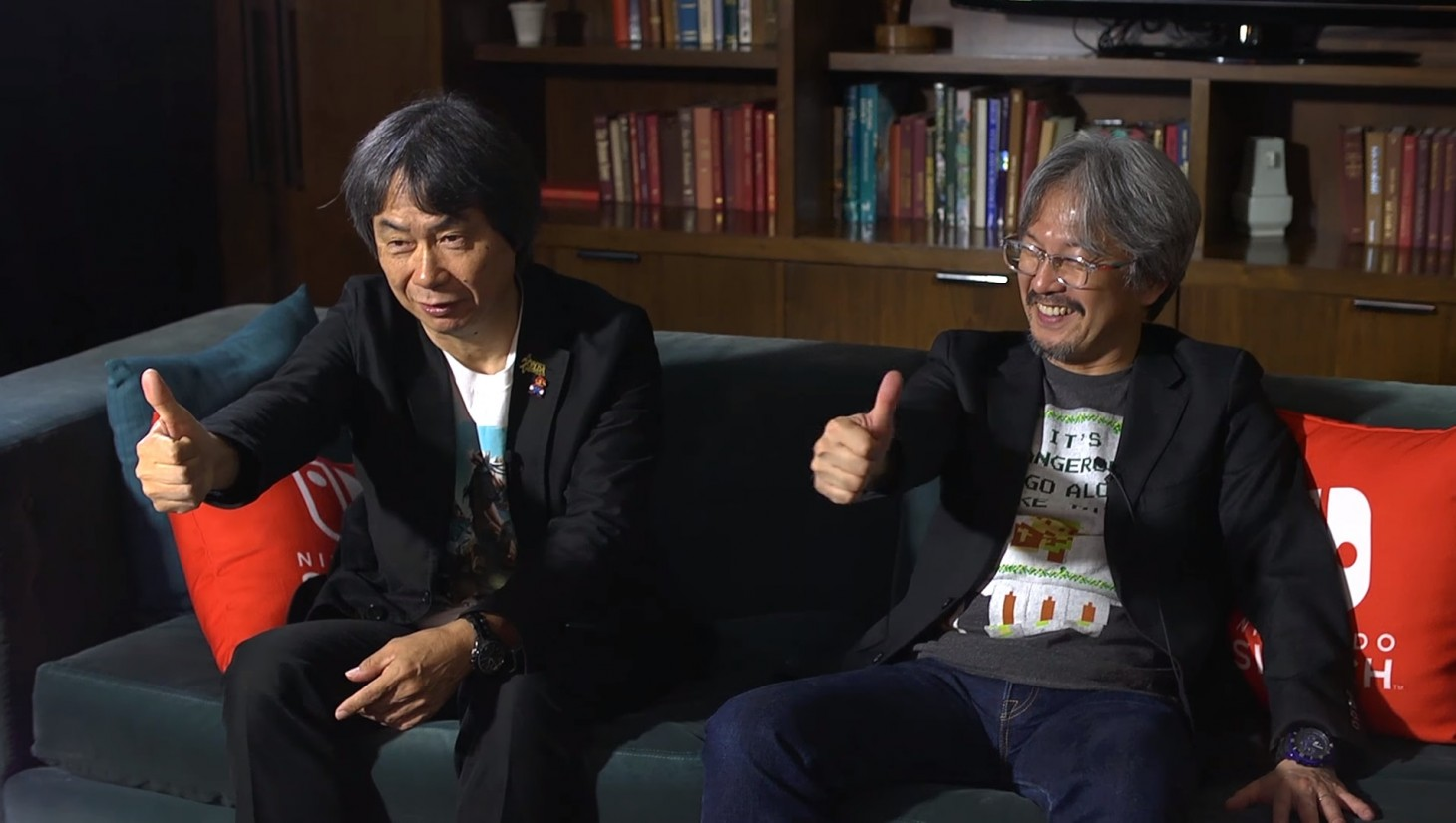 Aonuma reveals how his Zelda workload has changed over the years, and shares his excitement in working alongside Miyamoto