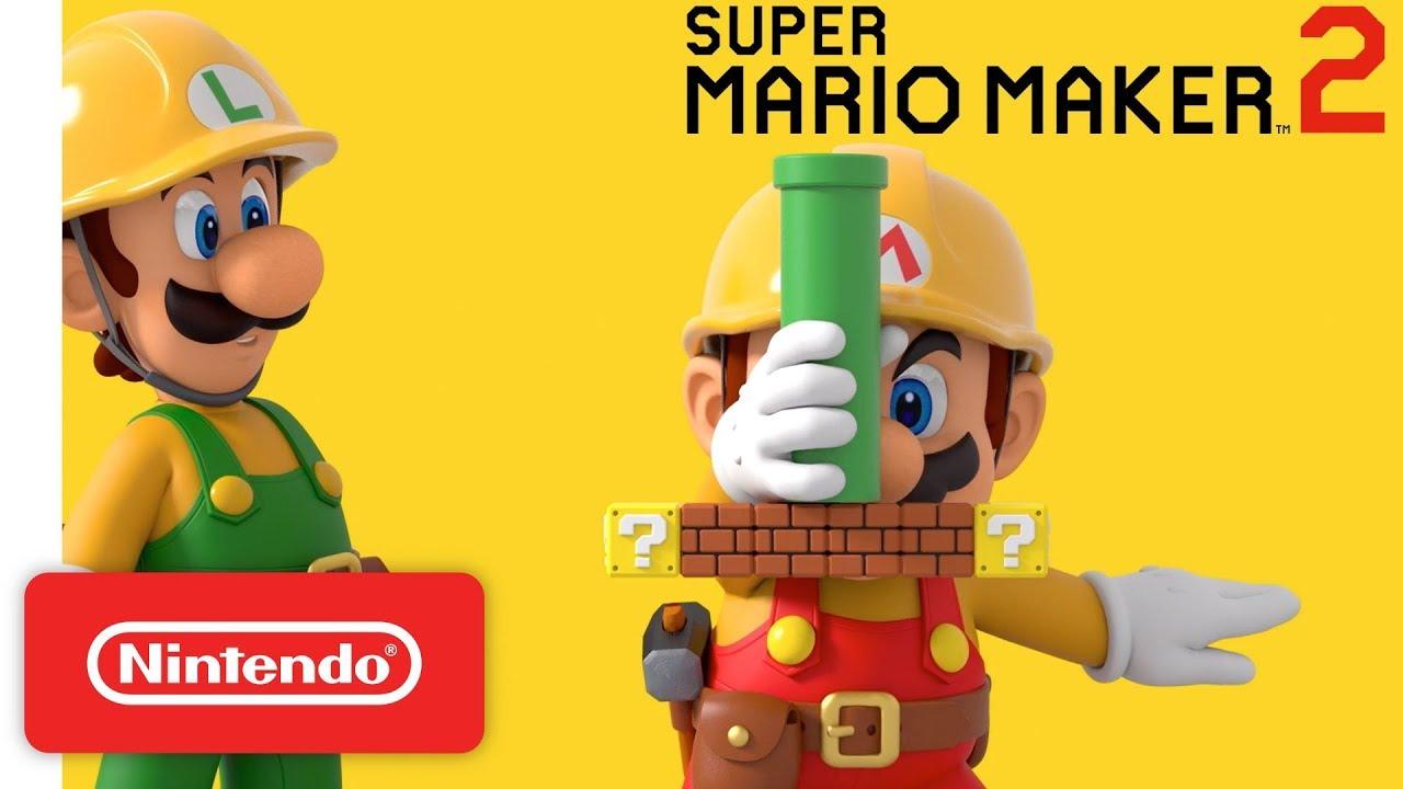 Super Mario Maker 2 - 'Launch date' commercial