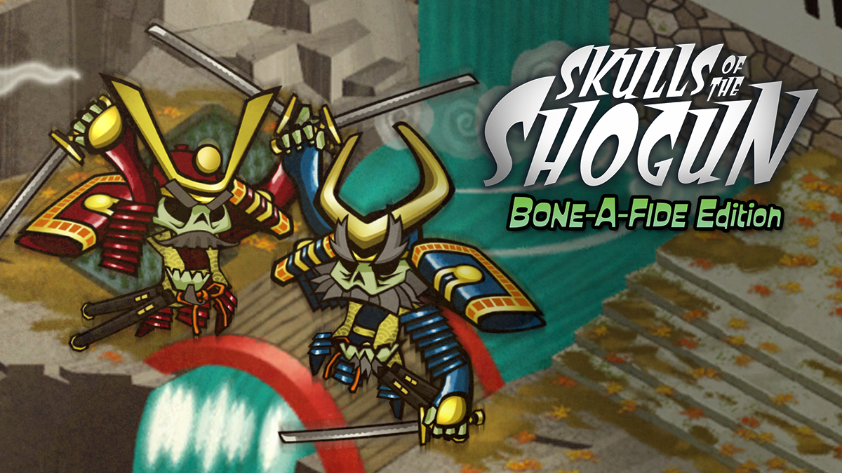 PR - SKULLS OF THE SHOGUN: BONE-A-FIDE EDITION IS COMING TO NINTENDO SWITCH JULY 11