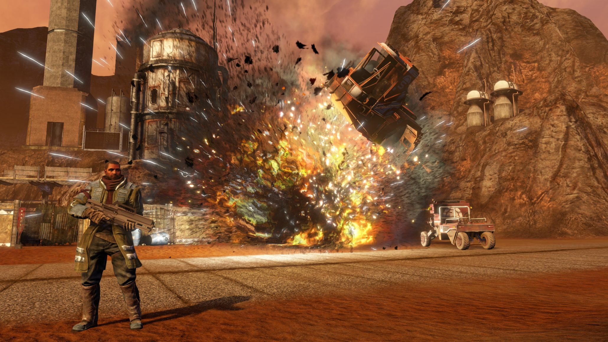 Volition shares first footage of Red Faction Guerrilla Re-Mars-tered on Switch