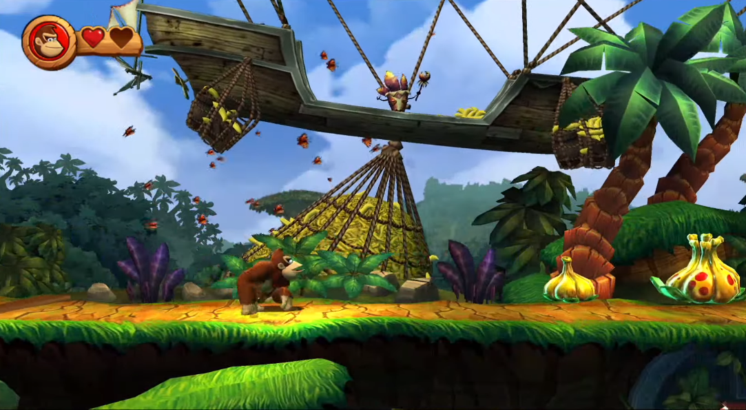 Donkey Kong Country Returns now available on Nvidia SHIELD in China, new gameplay footage shared