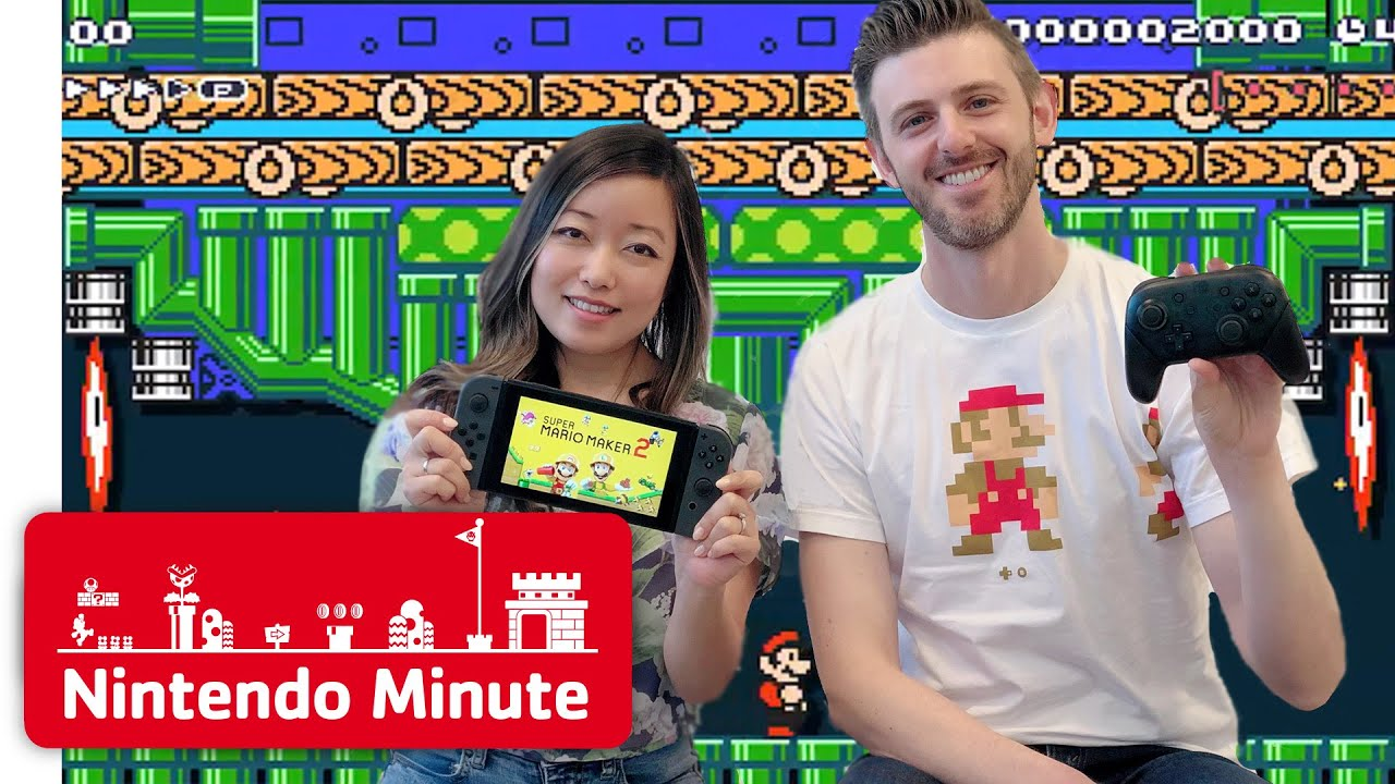 Nintendo Minute - Super Mario Maker 2: Playing YOUR Levels Part 2