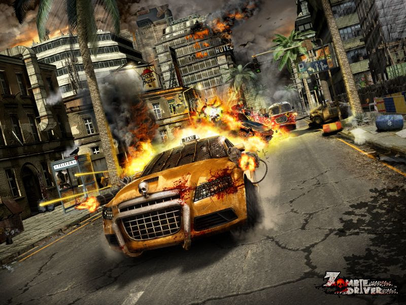 Zombie Driver: Immortal Edition is now available for pre-order on Switch