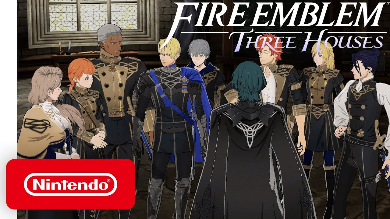 """Nintendo releases Fire Emblem: Three Houses """"Welcome to the Blue Lion House"""" trailer"""