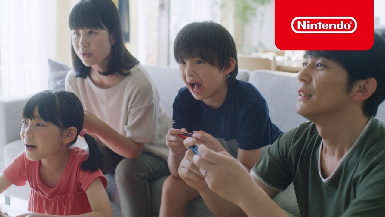 Nintendo releases three more Switch 'lifestyle' commercials in Japan