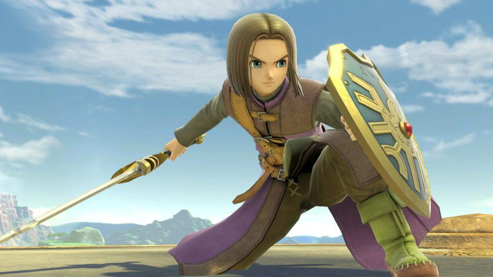 Smash Bros. Ultimate's Dragon Quest Hero DLC seems set for July release