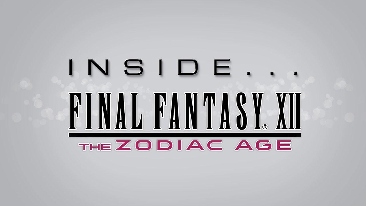 New 'Inside Final Fantasy XII The Zodiac Age' Video Reveals Developer Secrets