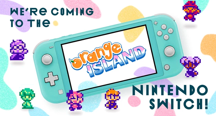 Orange Island officially seeing release on Switch