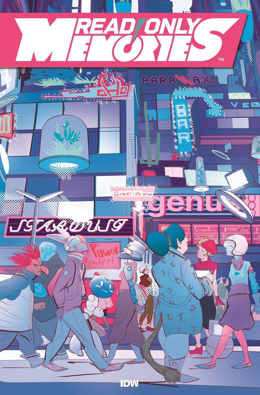 MidBoss, IDW Publishing Bring Read Only Memories to Comics December 2019
