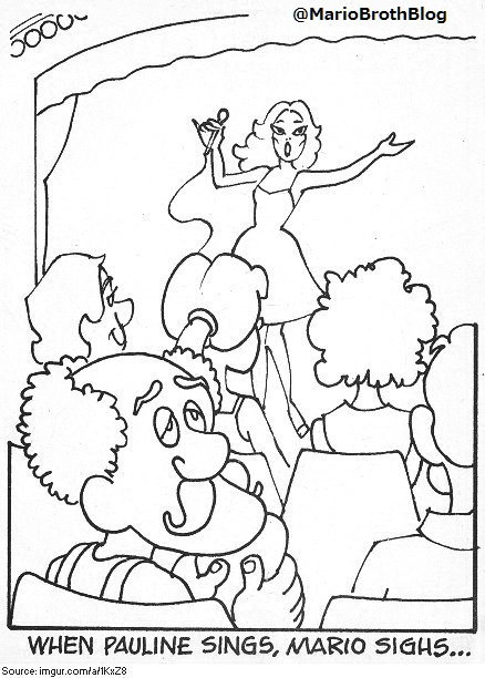 Officially-licensed Donkey Kong coloring book from 1982