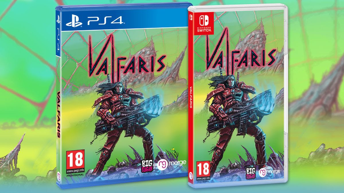 Valfaris physical release for Switch arrives Nov. 2019