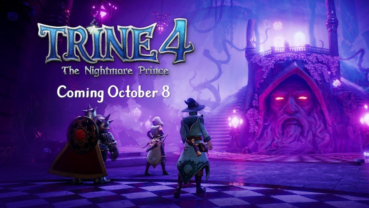 Trine 4: The Nightmare Prince Arrives October 8th, 2019, New Gameplay Trailer Reveals Gorgeous New Footage