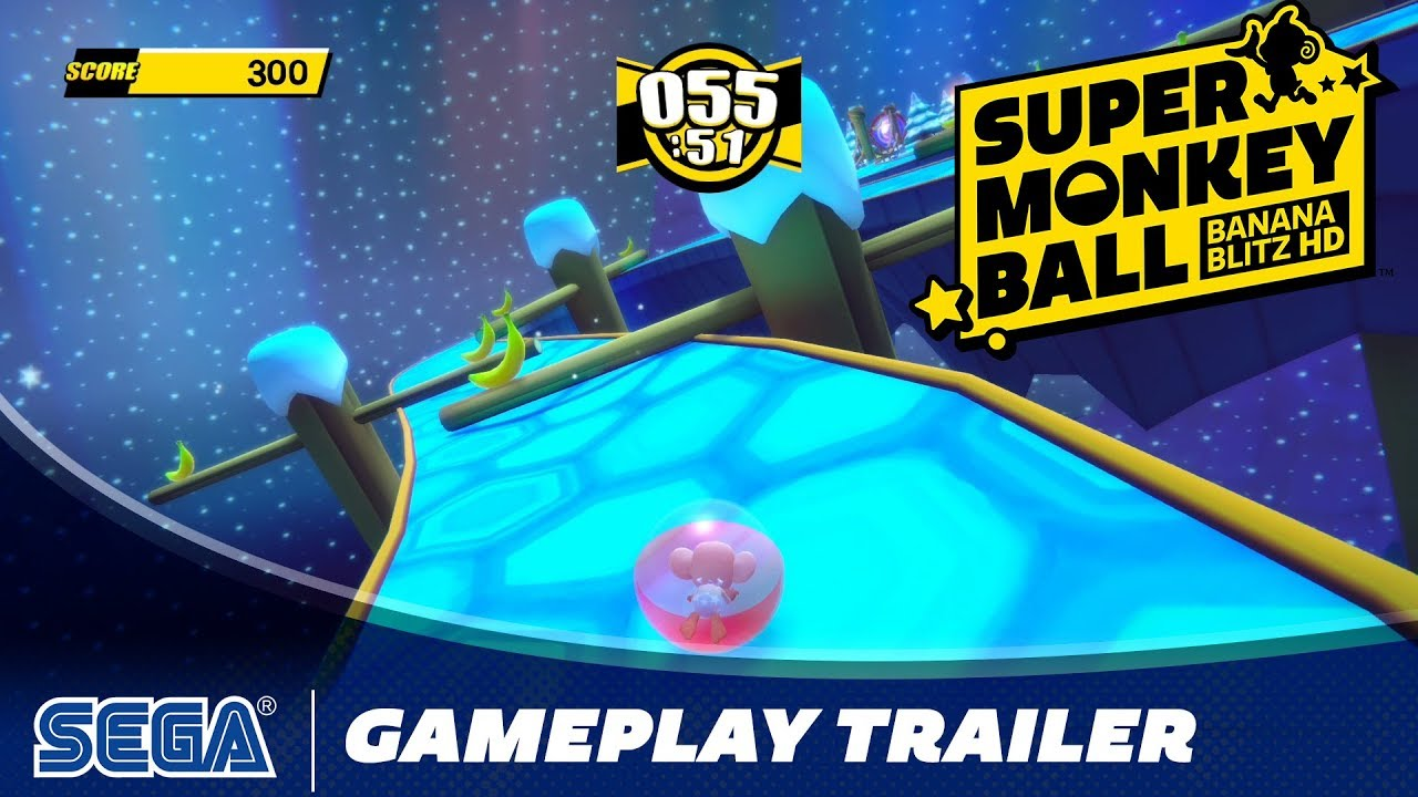 Jump, Tilt, and Roll Into Super Monkey Ball: Banana Blitz HD, Available October 29th, 2019