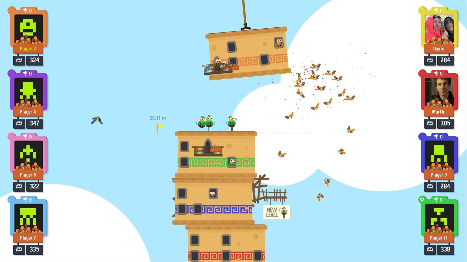 DNA Studios ports their multiplayer party game Tower of Babel to Switch